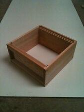 1 National Brood Box in Cedar Wood, Assembled,