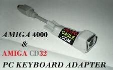 CD32 Keyboard Adapter - PC Keyboard interface for Amiga CD32