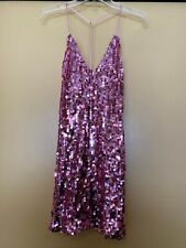 NEW See the Shades Pink Sequin Mini Dress, Size Women Small, NWOT