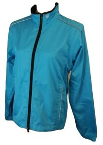 Canari Womens small convertible Jacket Vest blue EUC