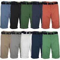 "MENS CHINO SHORTS COTTON PANTS KNEE LENGTH CASUAL SUMMER BOTTOMS SIZE W 28""-40"""