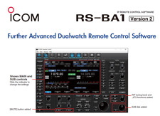 ICOM RS-BA1 Version 2 IP Remote Control (software only)