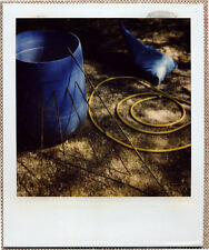 SOLARISTIK, PHOTO POLAROID ORIGINALE : FIN DE CHANTIER ABSTRAITE