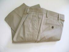 Dockers Mens Classic Fit Easy Khaki Pants Pleated D3 British Khaki Sz 36x34-NWT
