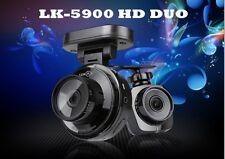 Lukas PRO 2CH LK-5900 HD DUO GPS Car DV Cam Dashboard Camera Dashcam Front+Rear