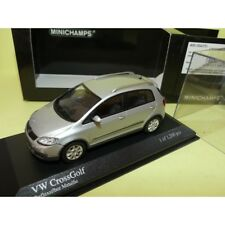 VW GOLF CROSSGOLF 2006 Gris Silver MINICHAMPS 1:43