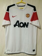 MANCHESTER UNITED 2010 2011 NIKE AWAY FOOTBALL SOCCER SHIRT JERSEY