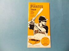 1969 Pittsburgh Pirate Media Guide