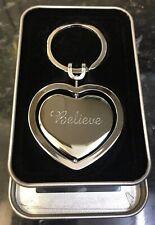 Peronalised Engraved Heart Key Ring Personalised Gift