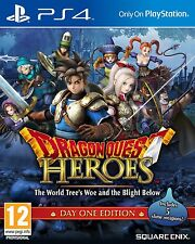 PS4 Game Dragon Quest Heroes Day One Edition NEW