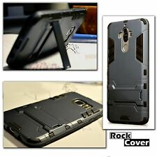 Huawei Mate 9 Rugged Armour Case Multi Tech 2 Survival Rock Cover Stealth Blue