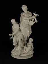 Antique KPM German White Glazed Figural Sculpture Group