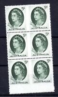 Australia 1963 5d imperf block SG354b WS16409