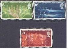 Great Britain 1970 COMMONWEALTH GAMES (3) Unhinged Mint SG 832-4