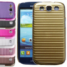 Nueva línea de metal aluminio duro caso cubierta trasera para Samsung Galaxy S3 SIII i9300