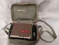 Vintage Retro Minolta Mini 35 Slide Projector with Carrying Case