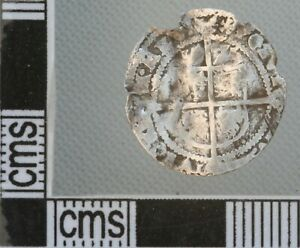 Great Britain England Elizabeth I Threepence Silver Hammered Coin 1575