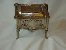 Silver/Silver-Plate Unbranded Antique Jewellery Boxes