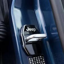 4PCS Serratura Stainsteel Steel Door Lock Cover per Jeep Renegade Compass