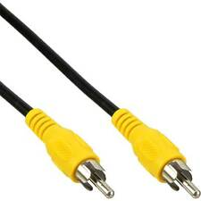 Cinch Video Kabel gelb 10 m composite TVout composite Cinchstecker > Stecker 10m