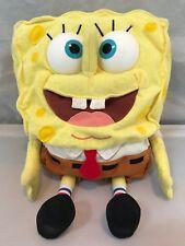 Vintage VTG 2000 Mattel 12 Inch Sponge Bob Squarepants Talking Plush Stuffed Toy