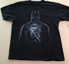 Batman T Shirt Men Black Bat Man Size L Tee Shirt