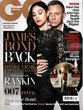 GQ UK November 2015 DANIEL CRAIG Monica Bellucci JAMES BOND IS BACK Rankin @NEW@