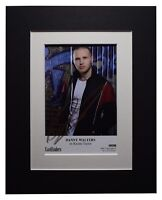 Danny Walters Signed Autograph 10x8 photo display TV Eastenders AFTAL COA
