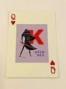 2020 Star Wars Celebration Art Series Playing Card by Shag - Kylo Ren