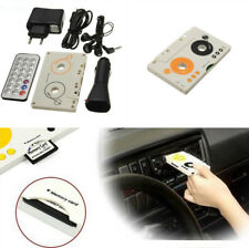 Auto Car Telecontrol Tape Cassette MP3 Player Audio Adapter with Remote Control