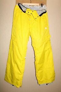 "DC Shoes Mens Large L 32-34""W 33""L EXOTEK 8Kmm Insulated Snow/Snowboard Pants"