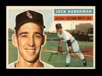 1956 Topps Baseball #29 Jack Harshman WB (White Sox) NM