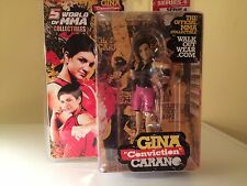 ROUND 5 UFC ULTIMATE COLLECTOR FIGURE~GINA CARANO~BRAND NEW~EXCLUSIVE~VERY RARE~