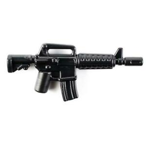 BrickArms XM177/CAR-15 Rifle for Minifigures Soldiers Military -NEW-