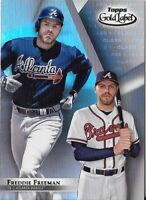 Freddie Freeman 2018 Topps Gold Label Class 1 Base Braves #9
