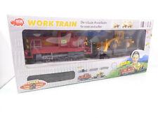 Dikie Spur G 356 3186W Work Train Set Dieselok Wagen Schienen in OVP HS4416