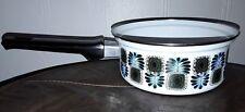 Vintage AUSTRIA Email Pot Enamel Kitchen Pot No Lid