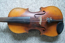 Antique Full Size Violin Unmarked Estate As Is