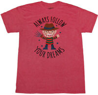 Nightmare on Elm Street Freddy Krueger Follow Your Dreams T-Shirt