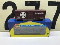 Athearn Ho Scale ATSF Santa Fe 40' Modernized Boxcar RD #144282 RTR New