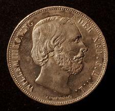 Kgr. Niederlande, Willem III., 2 1/2 Gulden 1872