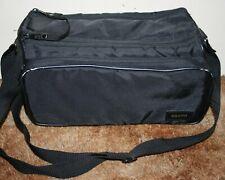 Vintage Sanyo Camcorder / Video Film Camera Case / Carry Bag With Strap - Black