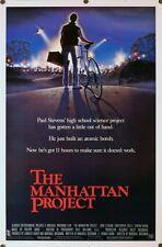 Manhattan Project - original movie poster - 27x41 MINT