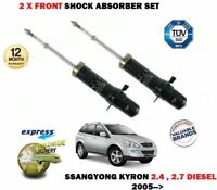 FOR SSANGYONG KYRON 2.4 2.7 2005-> 2X FRONT LEFT RIGHT SHOCK ABSORBER SHOCKERS