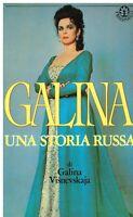 Galina visnevskajaFrassinelli musica storia cantante lirica russa opera russia