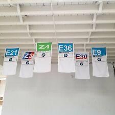 BMW Club 6 Banner Set - E21 E36 E9 E30 Z1 Z3 alpina M3 M5 dinan 3.0csl hartge