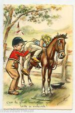 GERMAINE BOURET . C'est le gros morceau qui reste à enlever!... Cheval. Horse