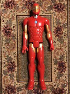 Vintage Loose Marvel Titan Hero Series 12-inch Iron Man Figure