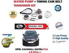 para Opel Zafira 1.8 2011- > Bomba de agua + Correa distribución Tensor Kit