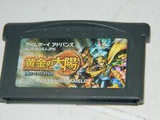 Golden Sun  (Nintendo Game Boy Advance) GBA Japan